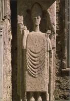 Irlande - Co Clare - Kilfenora - Sculpture romane