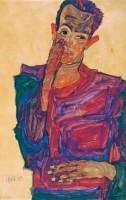 Egon-Schiele-Selbstbildnis-Augenlid_high